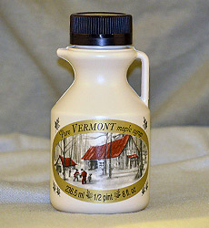 1/2 Pint - Pure Vermont Maple Syrup