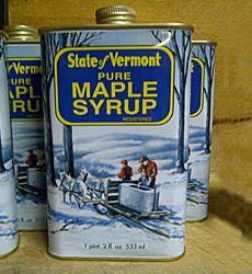 Tin Pint - Pure Vermont Maple Syrup