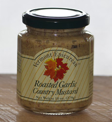 Roasted Garlic Country Mustard