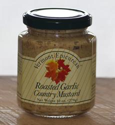 Roasted Garlic Country Mustard