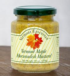 Vermont Maple Horseradish Mustard