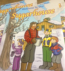 Sugarhouse Coloring Book