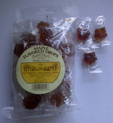 Maple Leaf Hard Candy