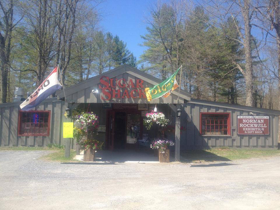 The Sugar Shack and Norman Rockwell Exhibit